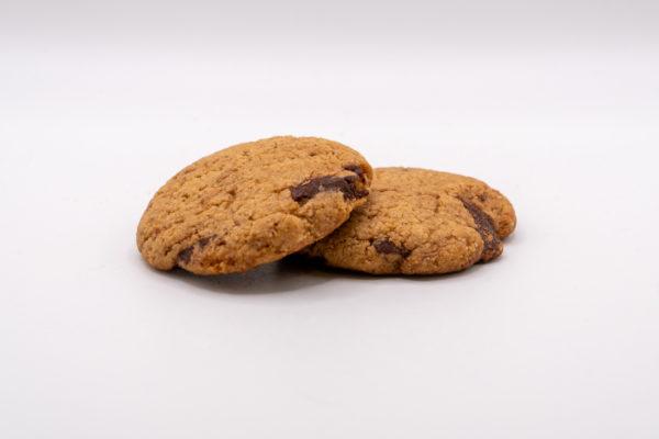 Csokoládés zabkeksz – vegán