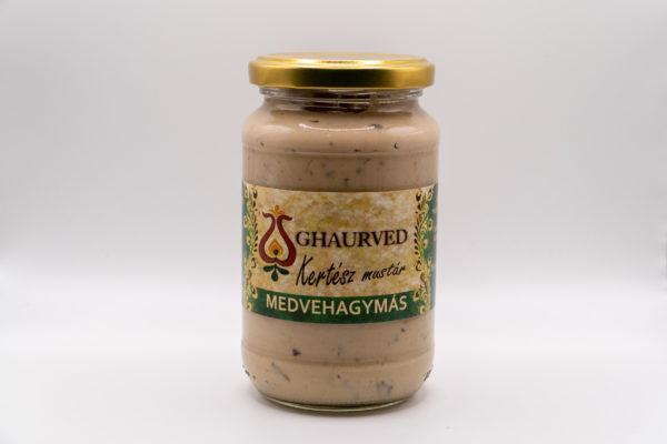 Medvehagymás mustár