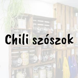 Chili szószok